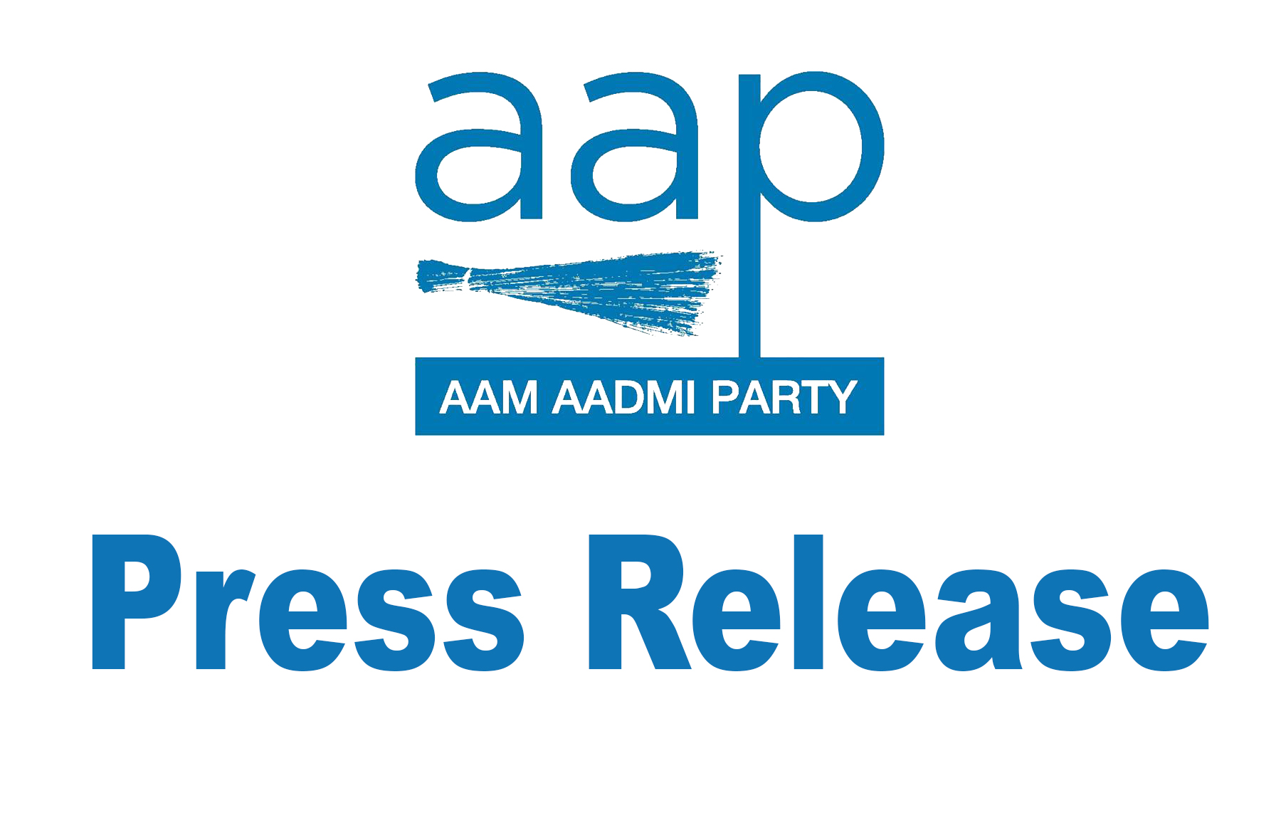 Aap Press Release Aam Aadmi Party